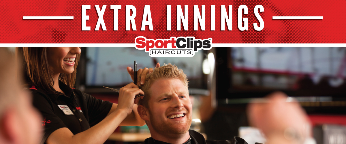 The Sport Clips Haircuts of Exton  Extra Innings Offerings