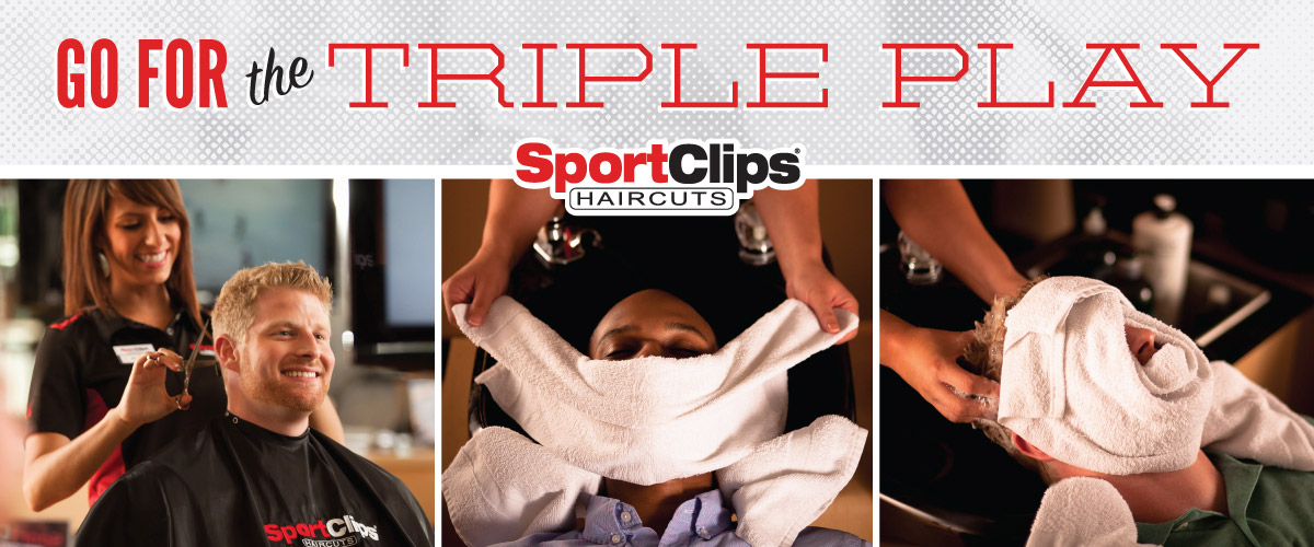 The Sport Clips Haircuts of Exton  Triple Play